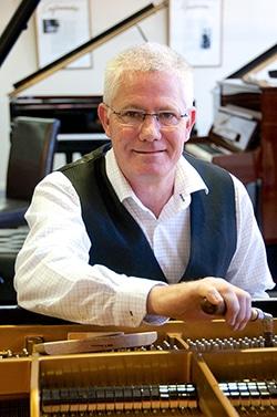 Brian Wilson, expert piano tuner